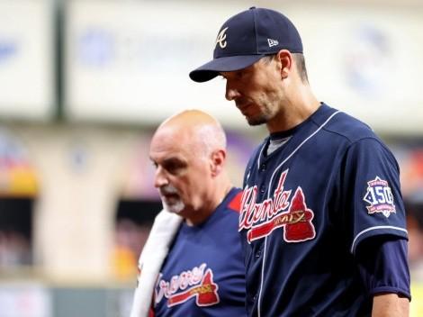 Por esta razón Charlie Morton no volverá a lanzar con los Braves en la Serie Mundial