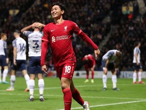 Liverpool melhora no segundo tempo, vence o Preston North End por 2 a 0, e avança às quartas de final