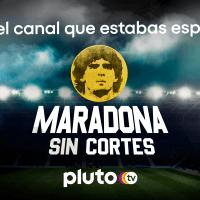 Pluto TV lanza un canal exclusivo sobre Diego Maradona