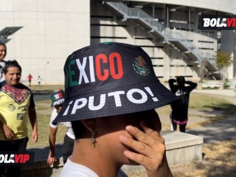 Mientras en México buscan erradicar el grito homofóbico, en Estados Unidos lo portan en un sombrero