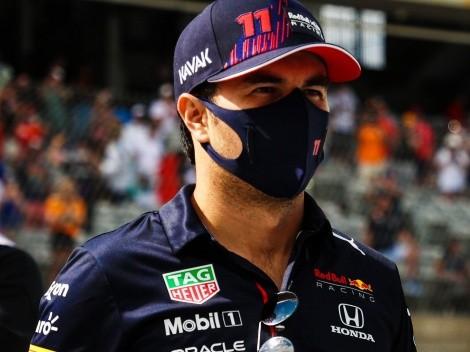 Red Bull ve en el podio a Checo Pérez en el GP de México