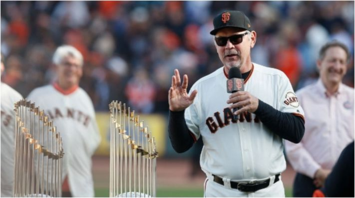 San Francisco Giants' legend Bruce Bochy. (Getty)
