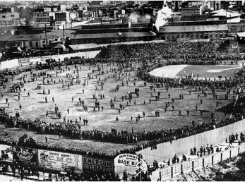 1903 World Series: Pittsburgh Pirates vs. Boston Americans. (Getty)
