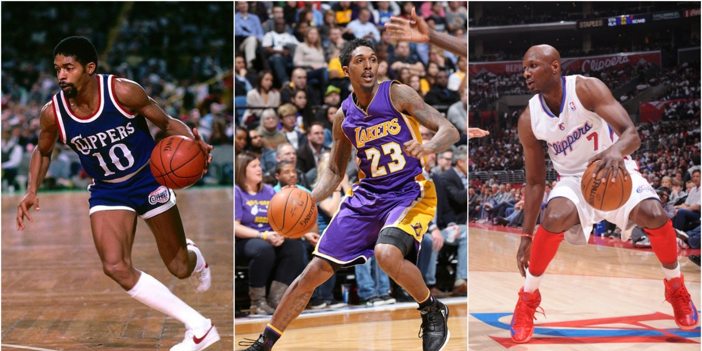 Norm Nixon, Lou Williams & Lamar Odom played for both franchises. (Getty)