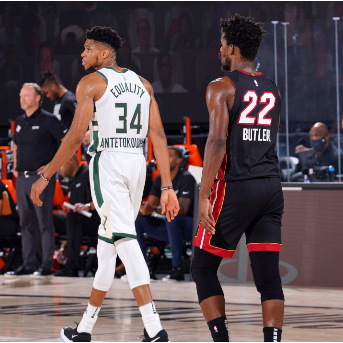 Nba Playoffs Jimmy Butler Explains Why Giannis Antetokounmpo Didn T Guard Him Bolavip Us