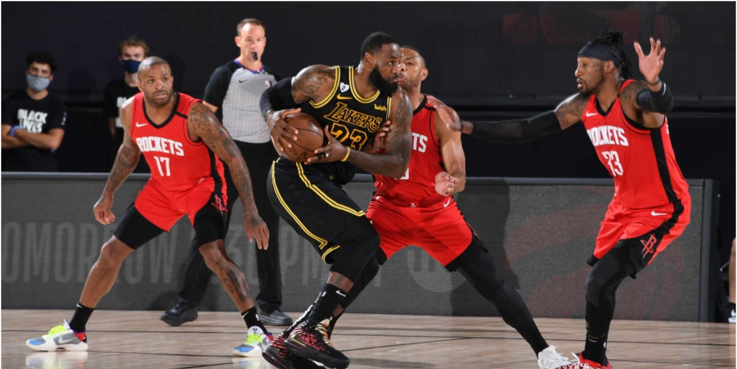 NBA Playoffs | Houston Rockets vs Los Angeles Lakers Game ...