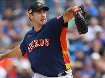 Verlander injured his forearm at the start of the season. (Getty)