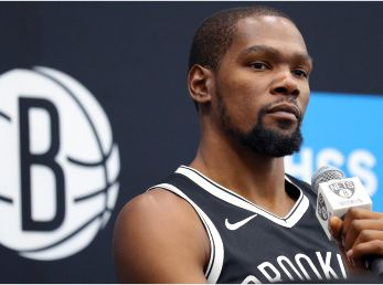 Durant will make his debut with the Nets next season. (Getty)