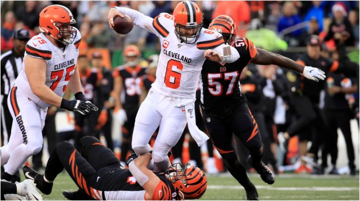 Bengals and Browns lost in Week 1. (Getty)