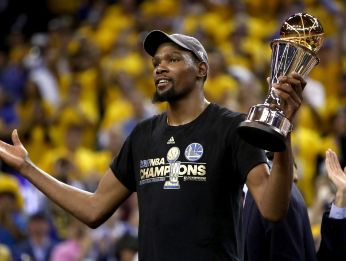 Kevin Durant is one of the best NBA players of his generation. (Getty)