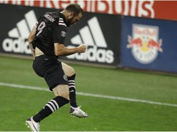 Inter Miami beat New York Red Bulls on the road. (Getty)