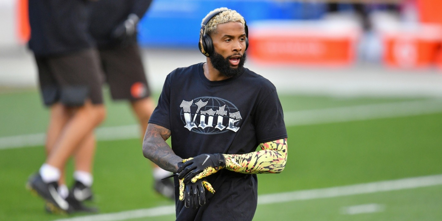 Odell was tested for COVID-19 before going home. Results will be available on Friday. (Getty)