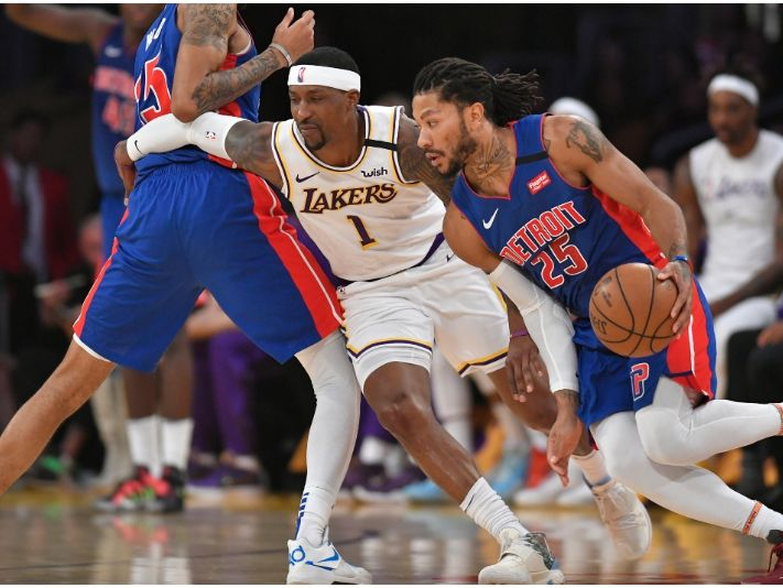 The Lakers wanted to trade for Rose in 2020. (Getty)