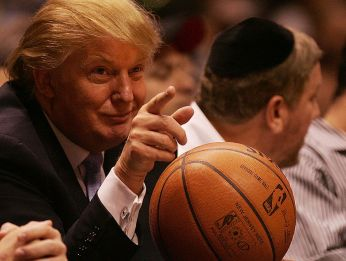 Donald Trump doesn't have many supporters within the NBA family. (Getty)