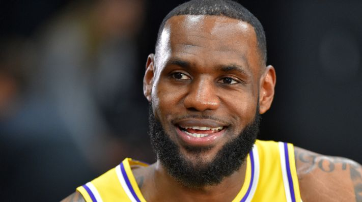 Maybe no other athlete has been more vocal of President Trump than Lebron James. (Getty)