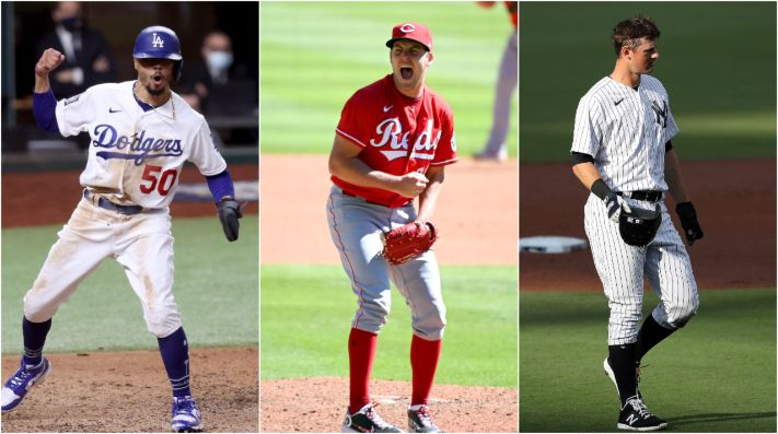 The MLB awards finalists have been unveiled. (Getty)