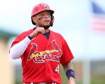 Yadier Molina has spent his 17-year career with the Cardinals. (Getty)