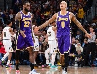 LeBron James makes a bold prediction over Kyle Kuzma's future