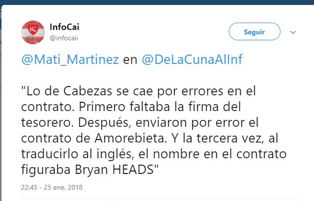 El increíble error que dejó a Independiente sin refuerzo — Por una Cabeza