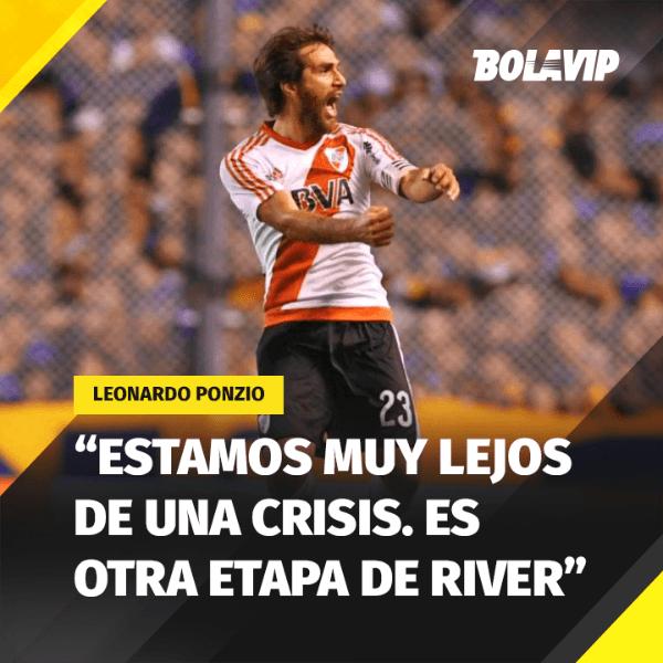 Leo Ponzio firmó contrato hasta 2019 — Noticias de River