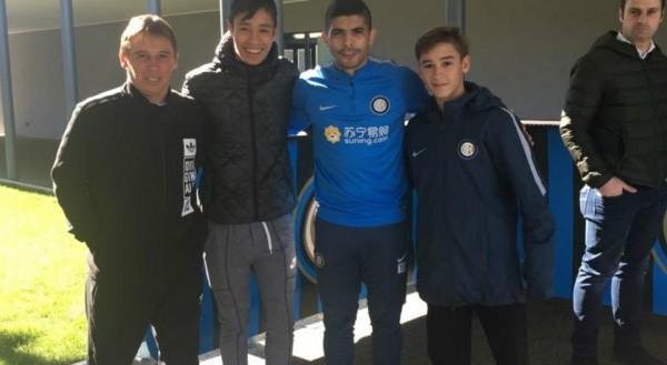 El Inter fichó a un argentino de 16 años