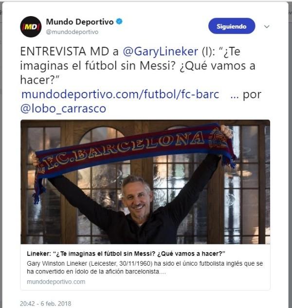 Si Messi se hubiera nacionalizado español, habría ganado tres Mundiales