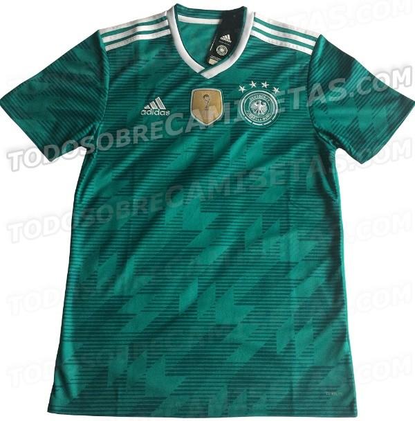 camiseta messi verde