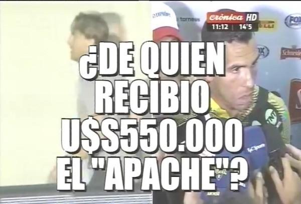 Tévez y Heinze transfirieron dinero a cuentas de Lázaro Báez