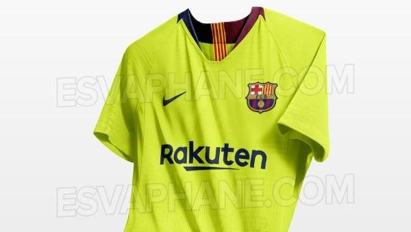Se filtró la próxima camiseta alternativa de Barcelona 5aeb7ef95aa
