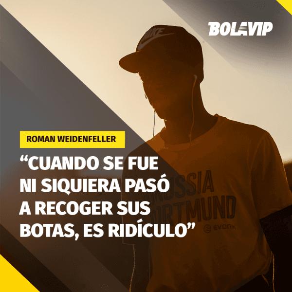 Weidenfeller no tiene piedad de Dembélé:
