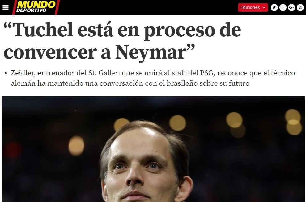 Neymar entrena un día y se vuelve a Brasil