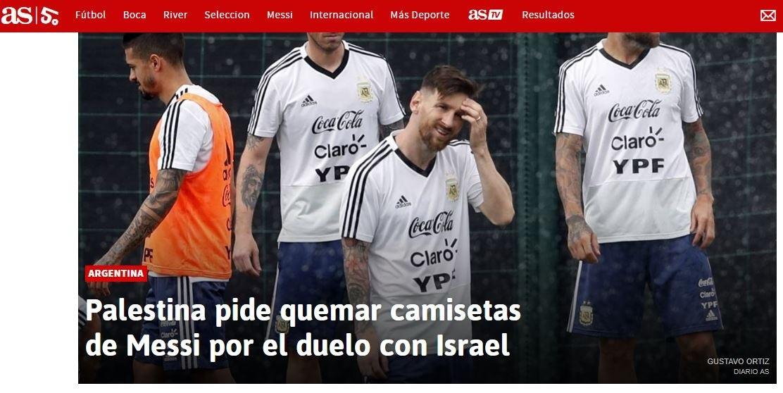 Argentina justifica suspensión de amistoso con Israel por seguridad