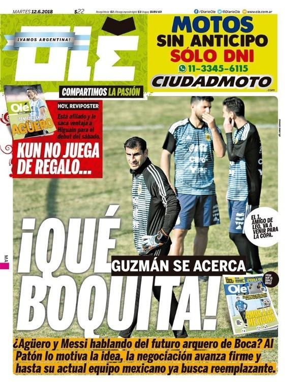 Nahuel Guzmán prefiere no seguir las negociaciones con Boca