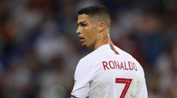 Foto de Cristiano Ronaldo, delantero de Portugal.