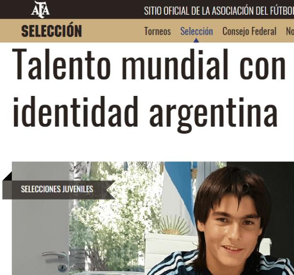 El 'Messi mexicano' jugará con la selección Argentina Sub-15 - Deportes