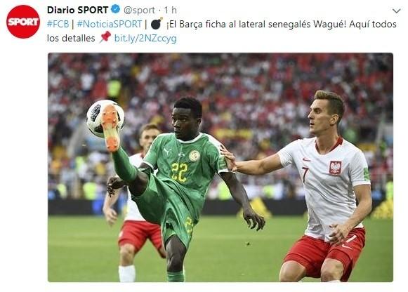 El Barça cierra el fichaje del lateral senegalés Wagué