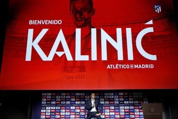 Kalinic: Griezmann y Costa son de los mejores delanteros de Europa
