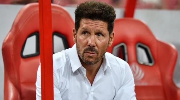 Foto de Diego Simeone, entrenador de Atlético Madrid.