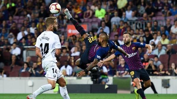 El Barça lo dio vuelta en tres minutos