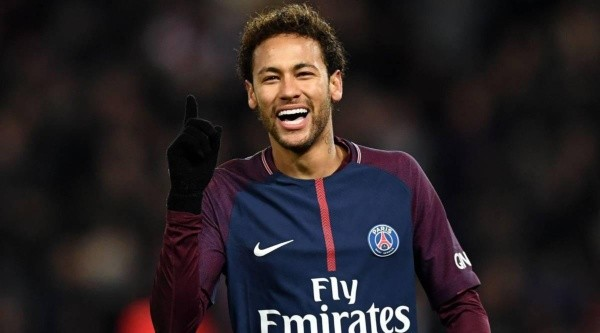 Neymar en Paris Saint-Germain.