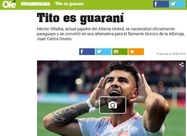Juan Carlos Osorio fue presentado como nuevo técnico de Paraguay