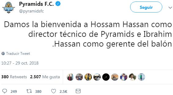 Ricardo La Volpe es destituido como entrenador en Egipto