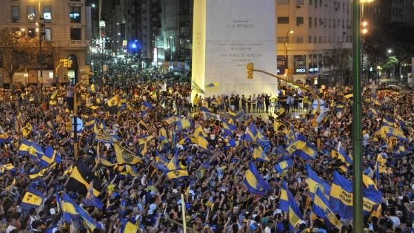 Gobierno de Buenos Aires no quiere festejos en el Obelisco — Final Libertadores