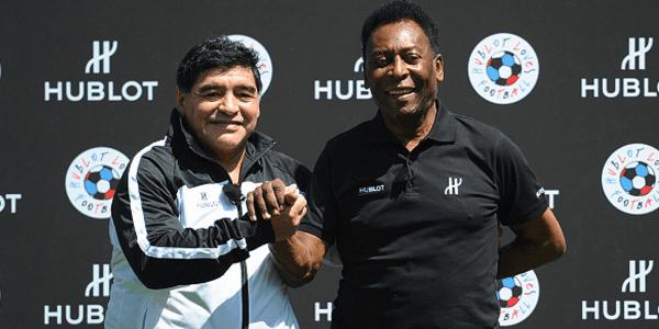 Pelé considera a Maradona mejor que Messi y cuestiona a Neymar