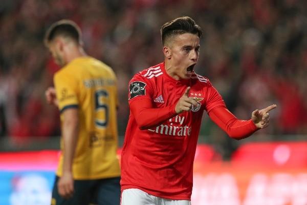 Franco Cervi en Benfica. (Foto: Getty)