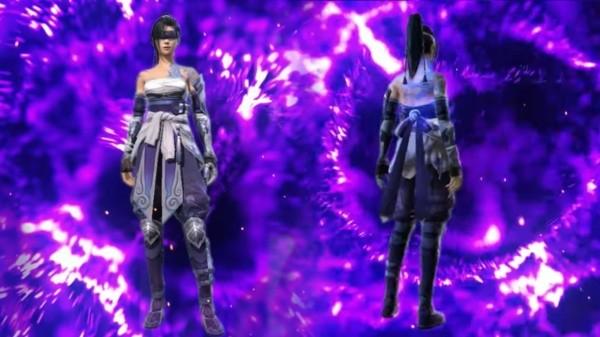 Resultado de imagen para skin femenina flama violeta free fire