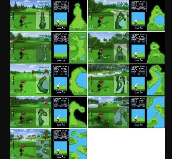 Encuentran un Easter Egg en el Golf de la Nintendo Wii ¡13