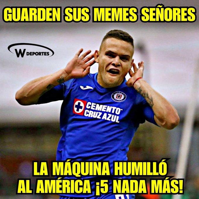 Memes Cruz Azul Vs America 2019