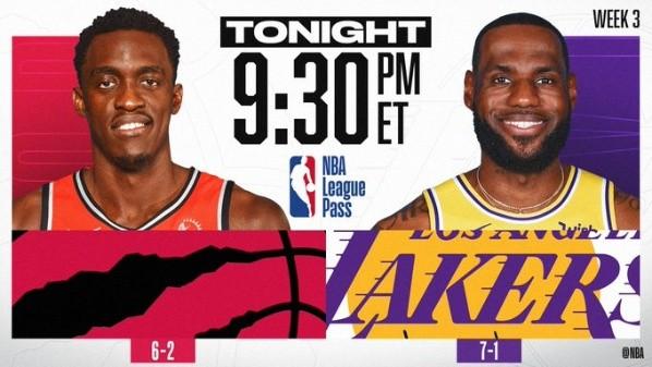 Que Canal Transmite Toronto Raptors Vs Los Angeles Lakers