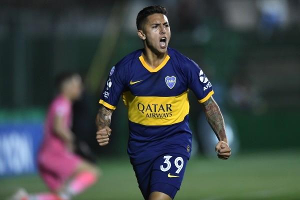 Agustín Almendra, jugador de Boca Juniors. (Foto: Getty)